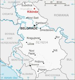 mapa srbije kikinda Taski   servis cistoce mapa srbije kikinda